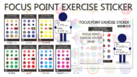 FOCUS POINT EXERCISE STICKER